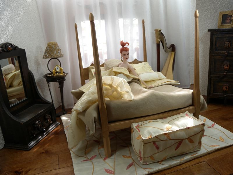 Mēbeles un interjeri / Кукольная мебель и интерьеры LLBED016.serenity%20-%2005